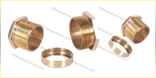 Brass Male Female Bush Cable Gland