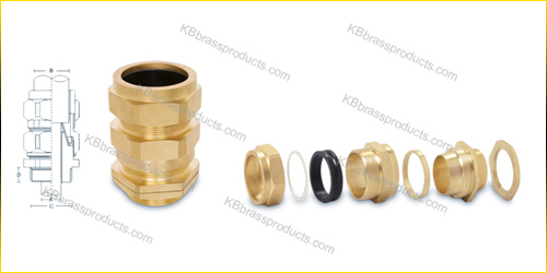 CW Type Brass Cable Gland